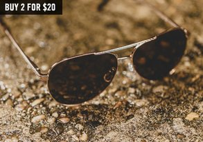 Shop 2 for $20 Sunglasses ft. AJ Morgan
