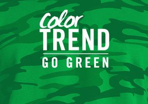 Shop Color Trend: Go Green