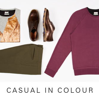 CASUAL IN COLOUR