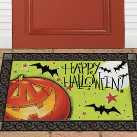 Ghostly Welcome: Door Décor