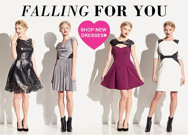 FALLING FOR YOU! Shop New Dresses