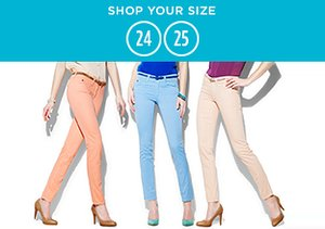 Shop Your Size: 24-25 Denim