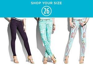 Shop Your Size: 26 Denim
