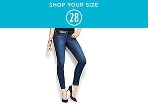 Shop Your Size: 28 Denim