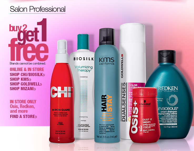 Buy 2 Get 1 FREE Styling and Finishing Products