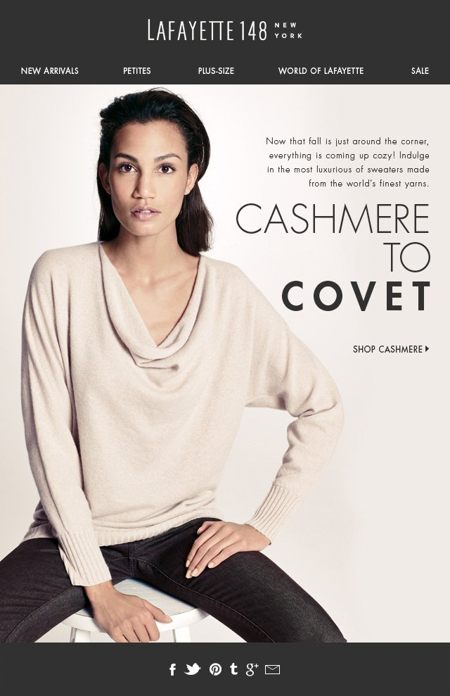 Cashmere to Covet