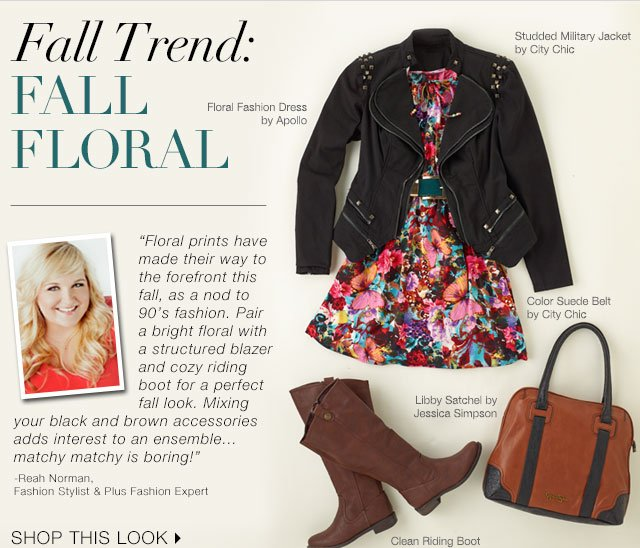 Shop Fall Floral Trend