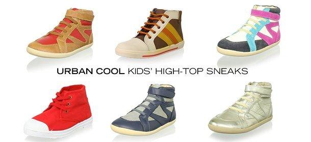 URBAN COOL: KIDS' HIGH-TOP SNEAKS, Event Ends September 10, 9:00 AM PT >