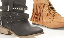 Flat Boots and Booties