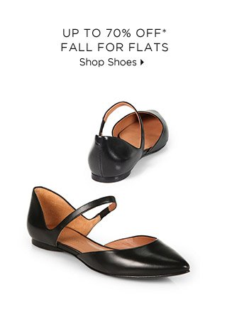Up To 70% Off* Fall For Flats
