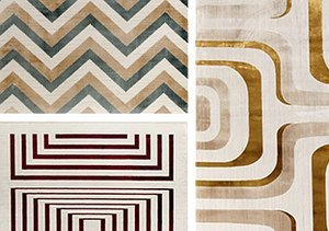 Ambrose Luminous Geometric Rugs