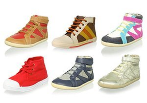 Urban Cool: Kids' High-Top Sneaks