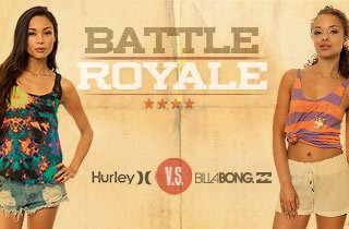 Hurley VS. Billabong