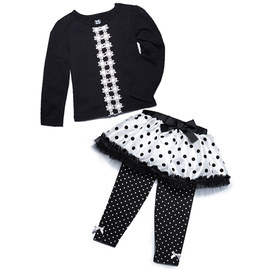 Sophisticuties: Black & White Apparel