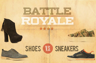 Shoes VS. Sneakers