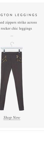 Gold-tored zippers
