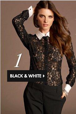 1 BLACK & WHITE