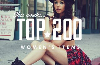 This Weeks Top 200 Women's