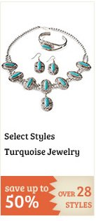 Select Turquoise Jewelry on Sale