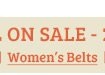 Womens Belts on Sale