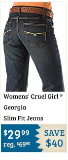 Womens Cruel Girl Jeans Georgia Slim Fit on Sale