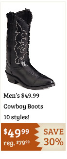4999 Cowboy Boots on Sale