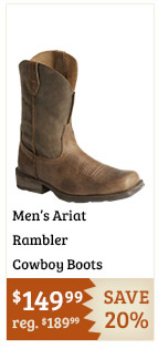 Ariat Rambler Cowboy Boots on Sale