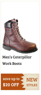 Caterpillar Work Boots on Sale