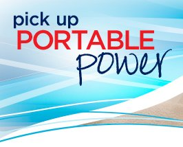 pick up PORTABLE power