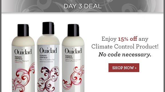 Enjoy 15% off any Climate Control Product! No code necessary.