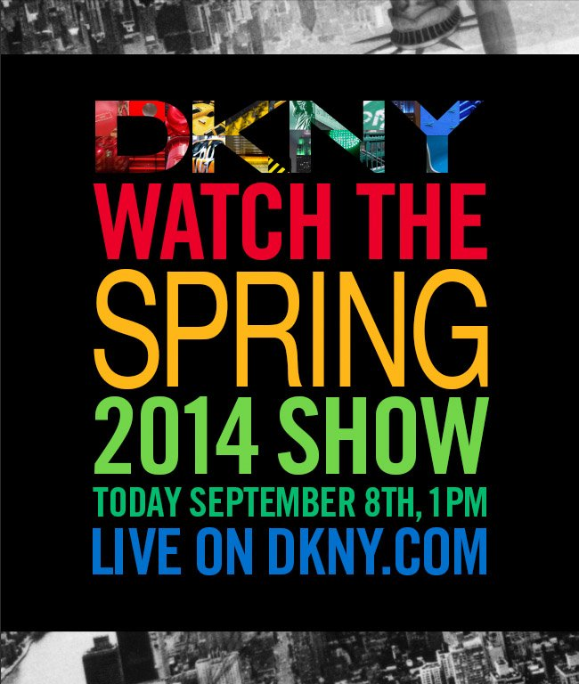 WATCH 2014 SPRING SHOW LIVE NOW