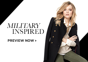 FALL 2013: MILITARY INSPIRED