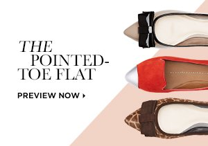 FALL 2013: THE POINTED-TOE FLAT