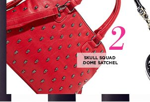 Skull Squad Dome Satchel! Shop Now