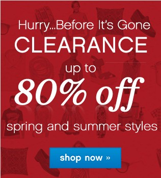 Clearance up to 80% off. Shop now.