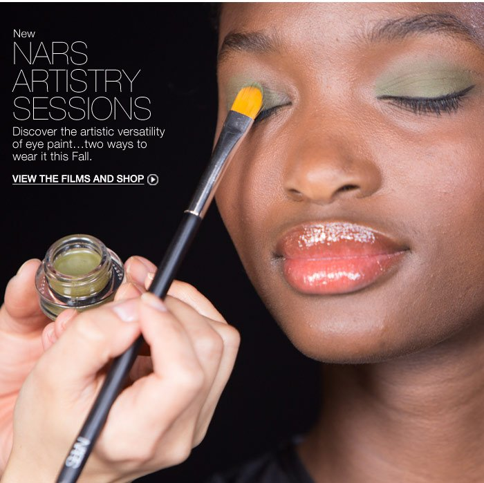 NARS ARTISTRY SESSIONS: Discover the artistic versatility of eye paint.