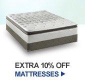EXTRA 10% OFF MATTRESSES