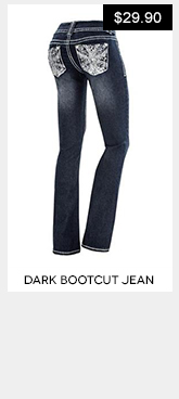Embellished Bootcut Jeans