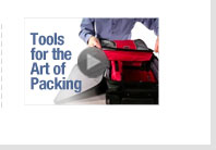 Tools for the art of packing. View Video