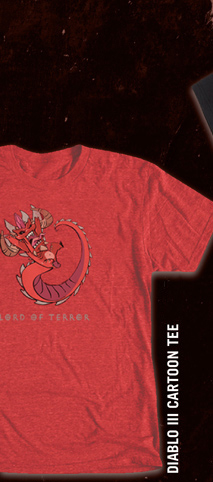 DIABLO III LORD OF TERROR TEE