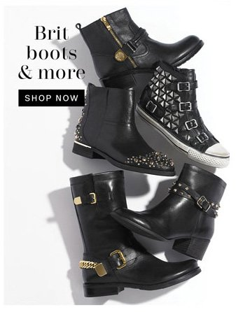 Brit Boots and more. Shop Now