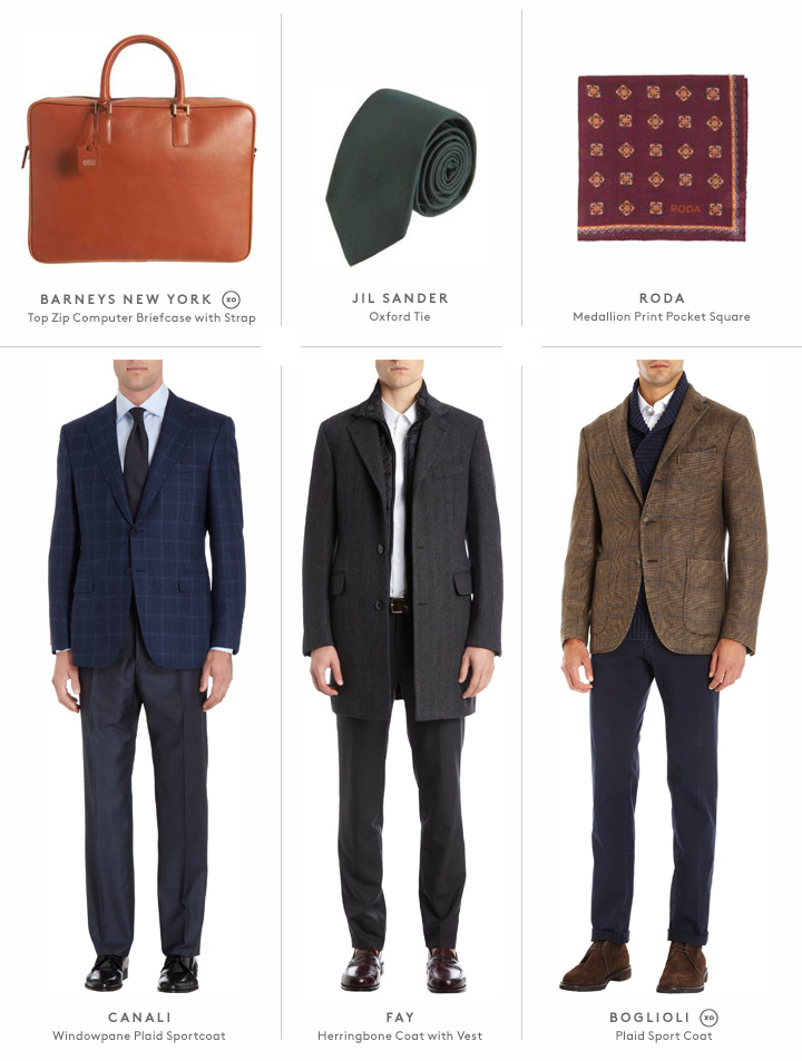 Jil Sander, Lanvin, Boglioli and more: Shop men's suits and accessories now.