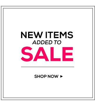 New Items Added to Sale