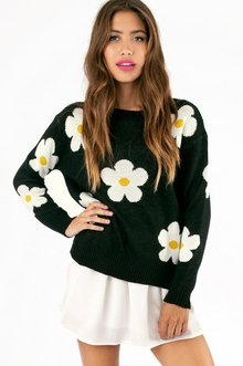 DAISY KNIT SWEATER 46