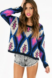 PRETTY IN PUNK SWEATER 63