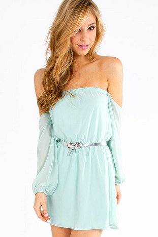 SHOW ME SHOULDER DRESS 33