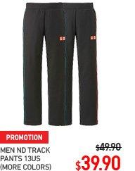 NOVACK TRACK PANTS