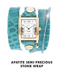 Apatite Semi-Precious Stone Wrap