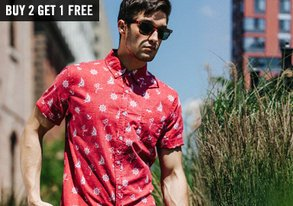 Shop Buy 2, Get 1 FREE: Button-Downs