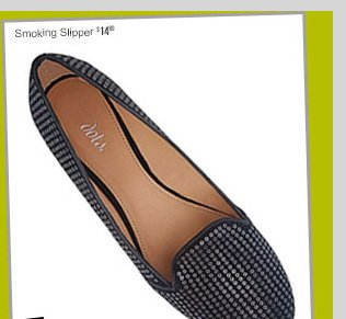 Smoking Slipper - $14.80 - Fall's HOTTEST Shoes! Starting at $14.80! SHOP NOW!